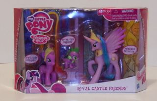 My Lttle Pony Friendship Magic Royal Castle Friends Princess Celestia