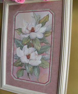 Home Interior Magnolia Picture Floral Pictures Homco Magnolias