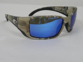 Costa Del Mar Blackfin Realtree Camo Blue Mirror Glass 400G Polarized