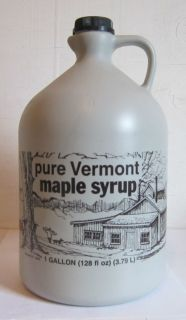 Ferguson Farms 100 Pure Vermont Maple Syrup Jug 1 Gallon 128oz