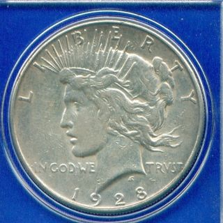 1928 S Peace Silver Dollar Rare Date High Grade PQ Stunner US Mint