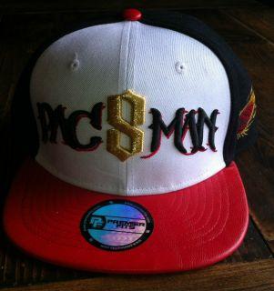 Manny Pacquiao PACMAN PAC8MAN Premier Fits Hat Cap Flip Squad Apparel