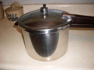 Presto Pressure Cooker Nice One Look Stainless Steel USA Made