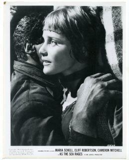 Movie Still Maria Schell as The Sea Rages 1959