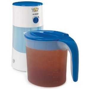 Mr Coffee TM70 3 Quart Qt Iced Tea Ice Maker Pot New