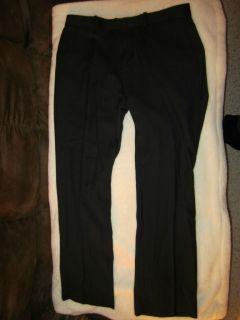 Marc Anthony Dress Pants Slim Fit Black MSRP $70 Brand New