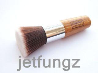 Flat Top Buffer Foundation Brush Wooden Handle Makeup Tools New