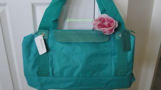 Large Tote Duffle Bag Handbag Teal