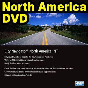 Garmin MapSource City Navigator NT North America Latest Version DVD