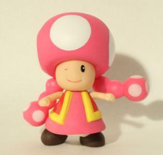 Super Mario Brother PVC 4 Figure Toadette