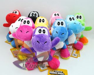 Lot 10 Super Mario Yoshi 4 5 Plush Toy MW558
