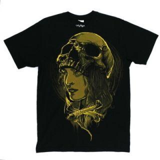 Iron Fist T Shirt Head Hunter Tee Men Size Small