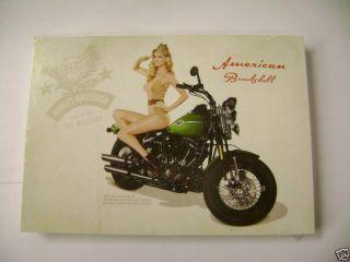 Harley Davidson 2009 Marisa Miller Promo Postcard Card