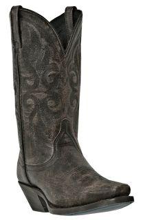 Womens Laredo Maricopa Cowboy Boots Leather Medium B M Square Toe