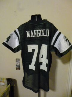 Reebok NFL New York Jets Nick Mangold Youth Replica Football Jersey L