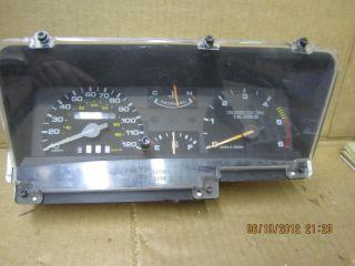 Mark VII LSC 1990 92 Analog Instrument Cluster 17 427 Miles