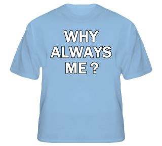 Mario Balotelli Soccer Why Always Me Man City T Shirt
