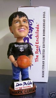 Mark Cuban Dallas Mavericks Owner Promotional Bobble Bobblehead SGA