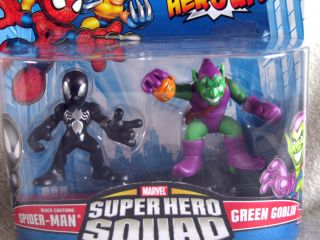 Marvel Super Hero Squad Spider Man Green Goblin BNIP