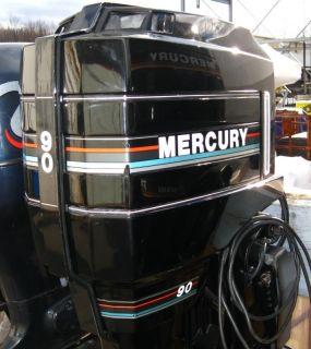 Mercury 90 HP 20 Shaft Outboard Boat Marine Motor 90ELPTO