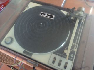 vtg Original 0 Garrard Zero 92 Turntable Record Player
