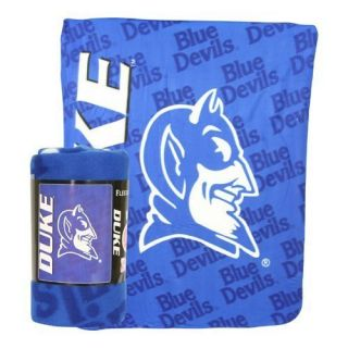 DUKE BLUE DEVILS Comfy Soft Fleece Throw Blanket 50x60 New Logo Free