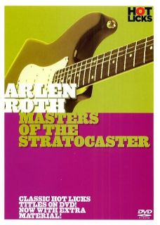 Arlen Roth Masters of The Stratocaster Guitar Hot Licks DVD HOT218