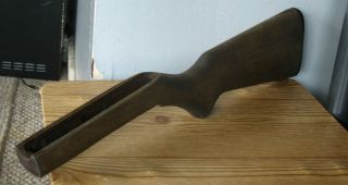 MARLIN 22 BOLT ACTION RIFLE STOCK W/MARLIN END COVER (GUN PARTS) NO