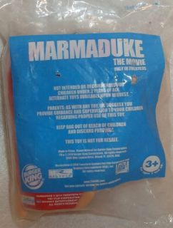 Burger King Toy Marmaduke The Movie