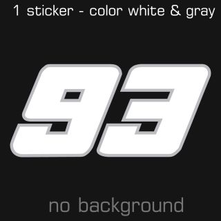 Marc Marquez Sticker Decal Multiple Sizes and Colors Pegatina Adhesivo