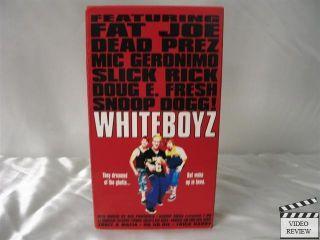 Whiteboyz VHS Danny Hoch Mark Webber Snoop Dogg