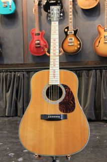 2001 MARTIN HDO GRAND OLE OPRY 75th ANNIVERSARY ACOUSTIC 302 OF 650