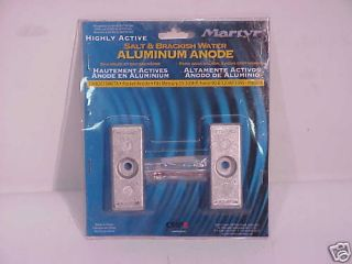 Martyr Aluminum Pocket Anode Kit CM826134KITA Mercury