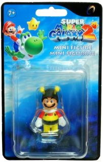 Super Mario Galaxy 2 Mini Figure Bee Mario New