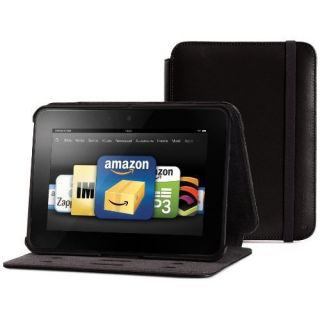 Marware Axis Genuine Leather Rotating Case for Kindle Fire HD 7 Black