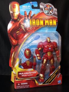 MARVEL STUDIOS IRON MAN HASBRO 2010 LEGENDS CONCEPT SERIES HULKBUSTER