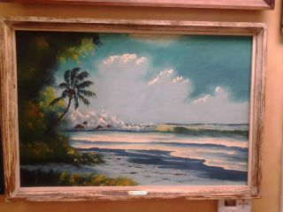 Florida Highwaymen Painting Mary Ann Carroll