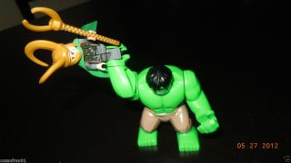 Lego Marvel Mini Figures Hulk vs Loki Lot New Huge Avengers 6868