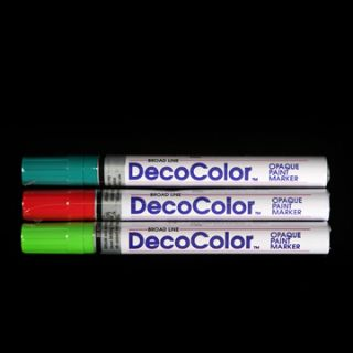 12 Pack DecoColor Broad Paint Markers All Colors Available