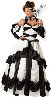 Harlequin Masquerade Ball Gown Fancy Dress Halloween Costume