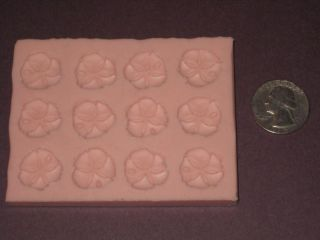 Silicone Sand Dollar Soap Candle Candy Wax Embeds Molds