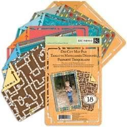 Company Road Trip Travel 5x7 Scrapbook Mat Paper Pad