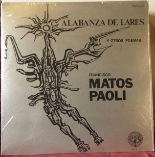 Francisco Matos Paoli Alabanza Lares Poemas 2LPs PR ICP