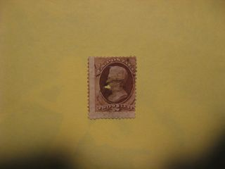 US Stamp Scott 135 Used 1870 Andrew Jackson 2c Bank Note