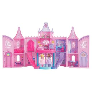 Mattel Barbie The Princess And The Popstar Castle House w/ Dolls