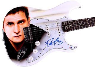 Matchbox Twenty Autographed Rob Thomas Airbrushed Guitar PSA UACC RD
