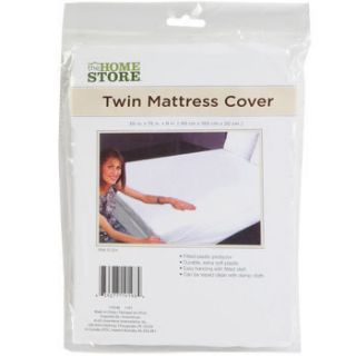 TWIN SIZE MATTRESS COVER Durable Extra Soft Plastic Fitted Protector