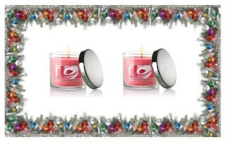 Bath Body Works Marshmallow Peppermint Slatkin Co Scented Candles 4