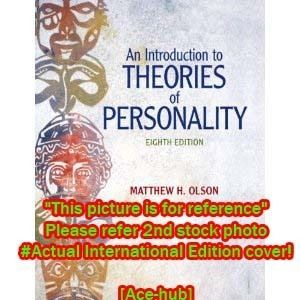 An Introduction to Theories of Personality 8th Olson 0205798780
