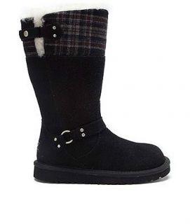 UGG Austrailia Maura Black Girls Boots 3286